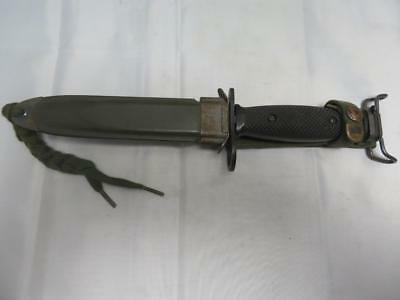 US M7 BOC Bayonet / Fighting Knife With M8A1 Scabbard