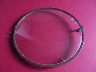Used Replacement Convex Round Clock Glass 166mm in Door Bezel 170mm