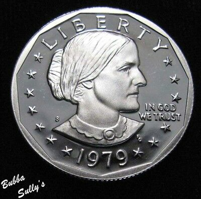1979 S Type II Susan B Anthony Dollar <> PROOF