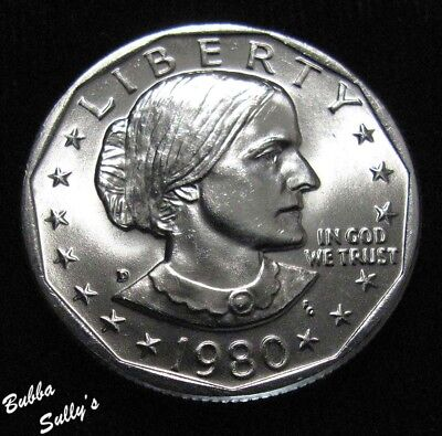 1980 D Susan B Anthony Dollar <> UNCIRCULATED