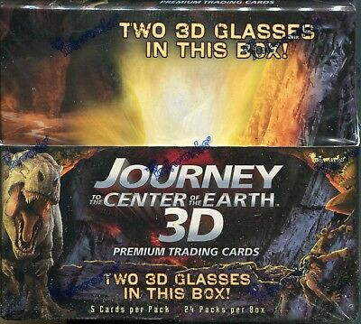 Journey To The Center Of The Earth 3D Factory Sealed Trading Card Hobby Box