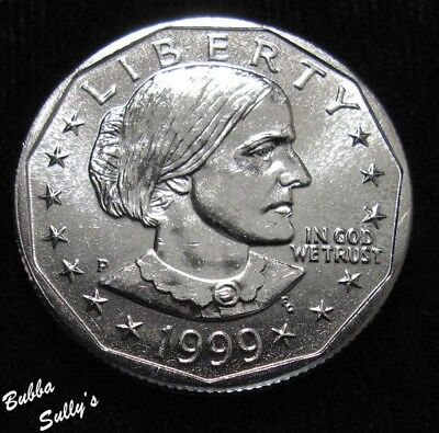 1999 P Susan B Anthony Dollar <> UNCIRCULATED