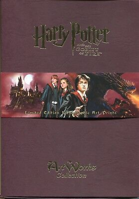 Harry Potter Goblet Of Fire Artworks Litho Collection Set Of 30 Prints