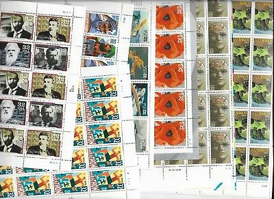 US Discount Postage mint 24c to 39c sheets all nh or self stick $185+ face value