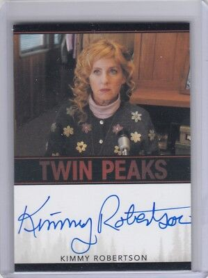 Twin Peaks (2018) - Kimmy Robertson Limited Event Series Autograph Card Vl