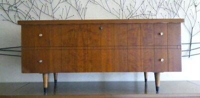 vntg MID CENTURY danish modern LANE cedar chest 1960s WALNUT
