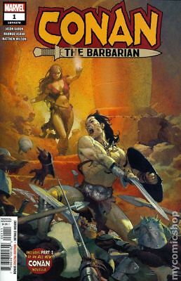 Conan The Barbarian (Marvel) 1A 2019 Ribic Variant NM Stock Image