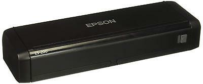 Epson WorkForce ES-200 Portable Duplex Document Scanner with ADF, B11B241201