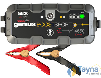 NOCO GB20 Boost Sport 400A UltraSafe Lithium Jump Starter