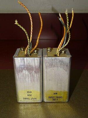 Pair, Western Electric Type 282A INPUT Transformers for Tube Amplifier, Nice