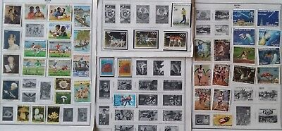 Lot of Niger Modern Stamps Used/MNH
