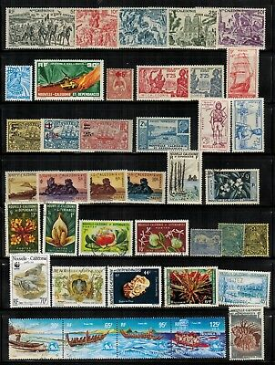 Lot of New Caledonia Old Stamps MNH/MH/Used