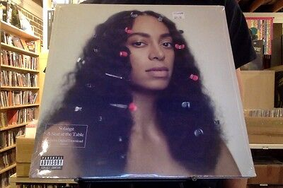 Solange A Seat at the Table 2xLP sealed vinyl + download Solange Knowles