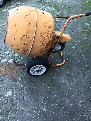 """Electric Cement Mixer. """" spares or possible repair."""""""