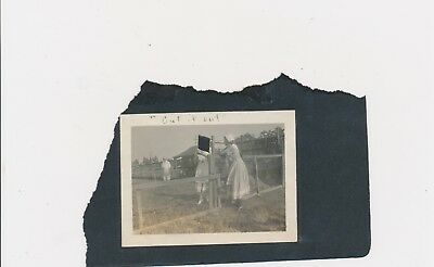 "#3, 1920's Captioned Unusual Odd Strange Missing Head ""Cut it Out"" Black Page"