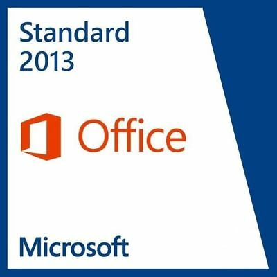 Microsoft Office Standard 2013 - Downloadlink - Key  (NUR Deutsch) 32+64Bit