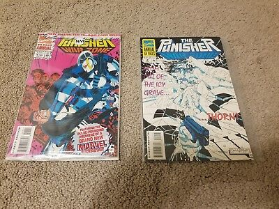 The Punisher War Zone Annual #1 and #2 Excellent Condition! #1 is mint unopened!