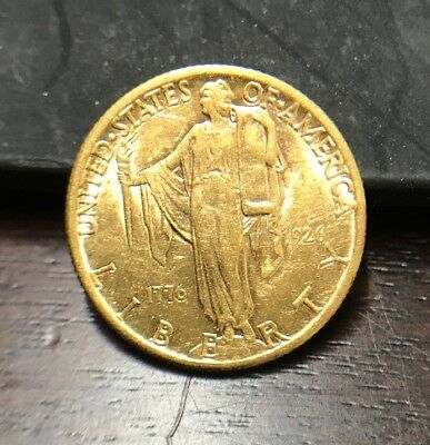 1926 $2.5 Sesquicentennial Gold Commemorative AU Original