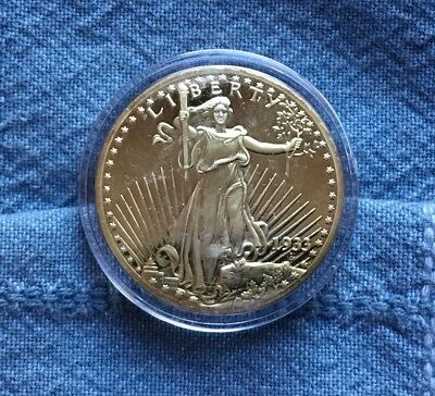 1933 US $20 Gold Double Eagle Proof National Collector's Mint Copy Coin #IXO875