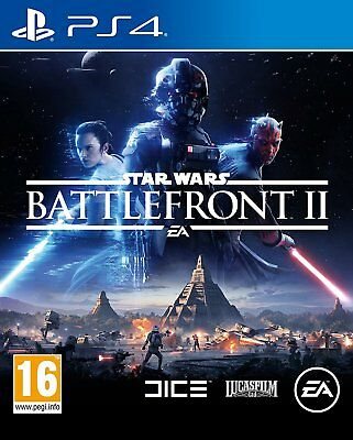 NEW & SEALED! Star Wars Battlefront 2 Sony Playstation 4 PS4 Game