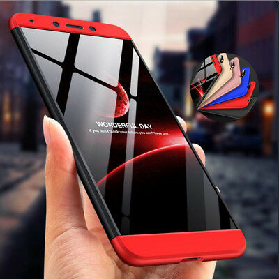 Shockproof Hybrid Armor 360° Cover Hard Case For Xiaomi Redmi 6A 6 Note 6 Pro