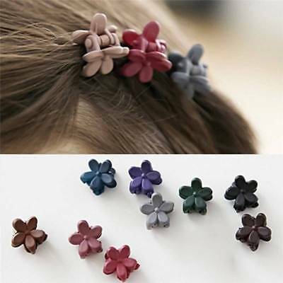 20pcs Cute Flower Shaped Mini Hair Claws Pins Clips For Baby Girls Child Women