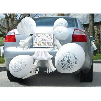 Wedding Car Decorations Just Married Ceremony Supplies