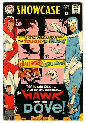 Showcase #75 (1968) VF 1st appearance of the Hawk and the Dove