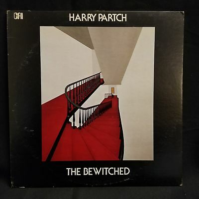 Harry Partch - The Bewitched (A Dance Satire) LP NM 1973 CRI Experimental Con...