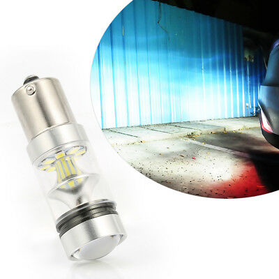 1×CREE XBD 100W 1156 S25 P21W BA15S LED Backup Light Car Reverse Bulb Lamp WHITE