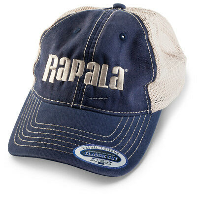 74108f4ad RAPALA EMBROIDERED LOGO classic 6 Panel Fishing Hat - Black & Red ...
