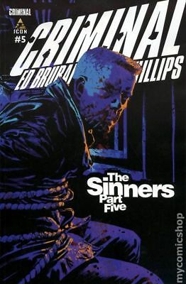 Criminal Sinners #5 2010 VF Stock Image