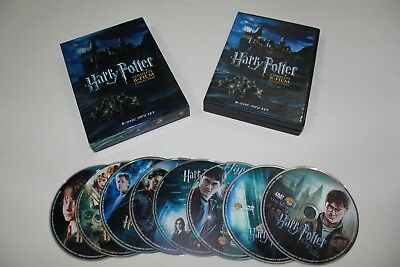 Harry Potter: The Complete 8-Film Collection (2011) 8DVD Sealed with slip cover