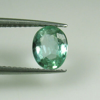 "1.12 Ct - Natural Emerald - Top ""vs-2"" Luster Good Oval Cut - Zambia - Untreated"