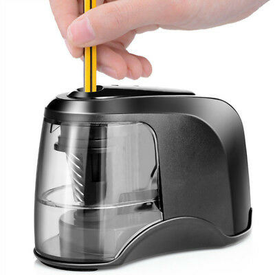 Electric Pencil Sharpener Portable Battery Operated For No. 2 & Colored Pencils