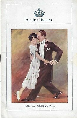 "George Gershwin ""lady Be Good"" Fred And Adele Astaire London Programme 1926 Rare"
