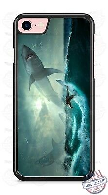 Shark Ocean Surfer Daredevil Phone Case Cover Fits iPhone Samsung Google LG etc
