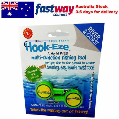 Quick Fishing Knot Tool Hook Tying Safety Device Tie Hooks Fast Smart Hook Cover