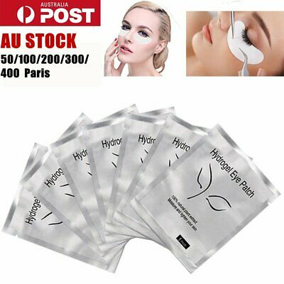 Under Eye Curve Eyelash Pads Gel Patch Lint Free Lash Extension Beauty 50-400 X