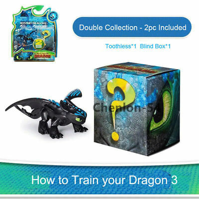 The Hidden World Mystery Dragons Collection Figure Doll How To Train Your Dragon