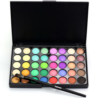 Eyeshadow Palette Makeup 40 Color Cream Eye Shadow Matte Shimmer With brush