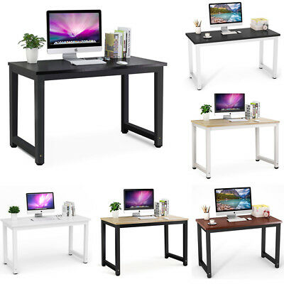 Heavy Duty Large Modern Simple Style Computer Desk PC Study Table Office Desk
