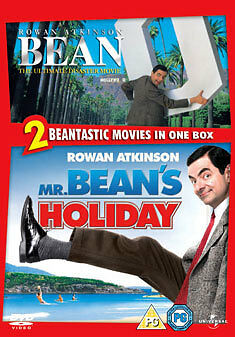 Mr Bean's Movie Box Set (The Ultimate Disaster Movie/Mr Bean's Holiday) [DVD], D