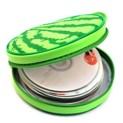 Watermelon Style 24pcs Disk Capacity DVD CD Case Wallet Disc Storage Holder BS