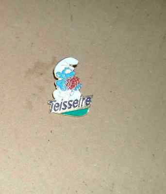 1 Pin's Pins Pin Schtroumpf Teisseire 1993