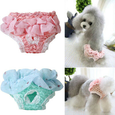 Washable Pet Dogs Physiological Pants Diaper Panties For Female Underwear Dog