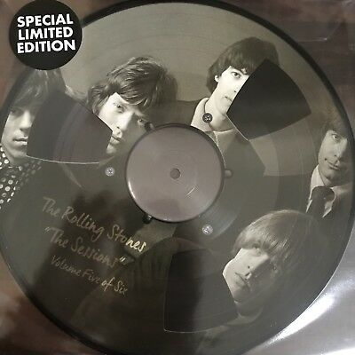 """THE ROLLING STONES """"The Sessions Vol 5 - 10 Inch Picture Disc Vinyl - Ltd  - New"""