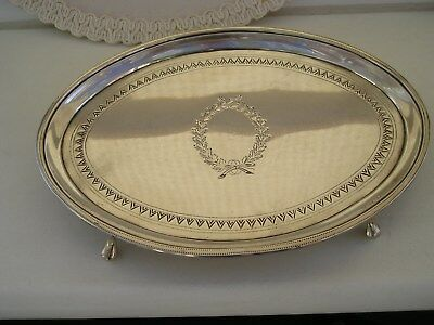 Attractive Clean Georgian Solid Silver Teapot Stand Tray - 1798.