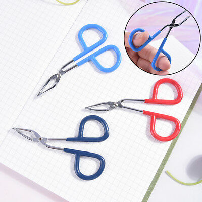 Scissors Flat Tip Eyebrow Tweezers Clamp Clipper Eyebrow Removal Makeup Tool BB