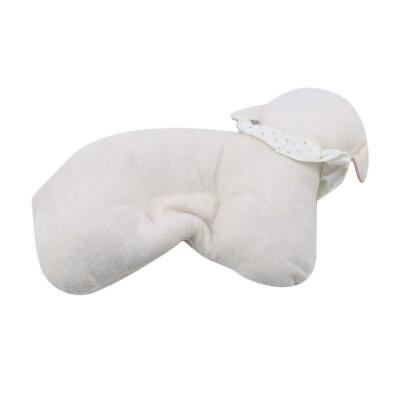 Soft Infant Baby Sheep Pillow Newborn Prevent Flat Head Anti Roll Support Neck C